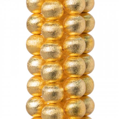 Perle di Maiorca Grigio Argento Ovale Piatto 15x18mm