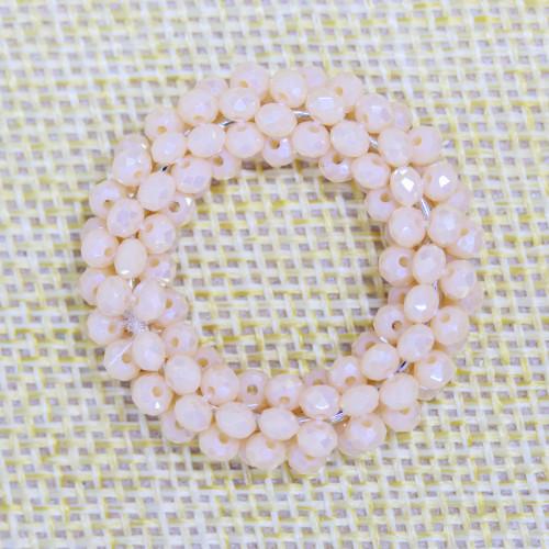 Perle di Maiorca Riso 16x20mm Arancio