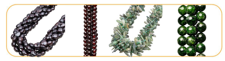 Granato Naturale, per creazione di gioielli, online ed in negozio.
